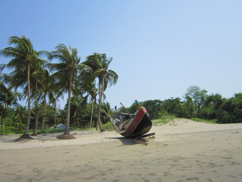 Backpacken Bangladesh st martin strand