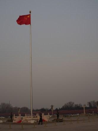 Beijing vlag hemelse vrede