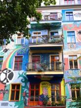Berlijn wandelen rondom boxhagener platz