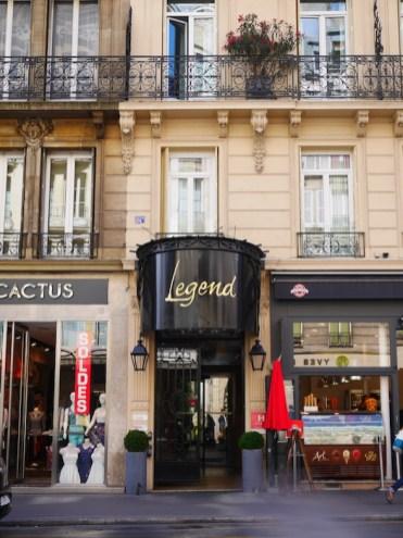 Bijzonder overnachten in het Legend Hotel Parijs