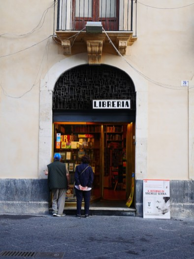 Boekwinkel catania sicilie
