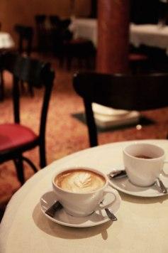Cafeetje-koffie