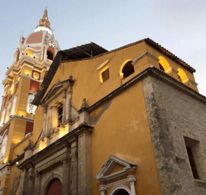 Colombia kerk in Cartagena