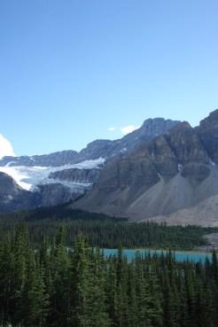 Crowfoot Glacier west canada