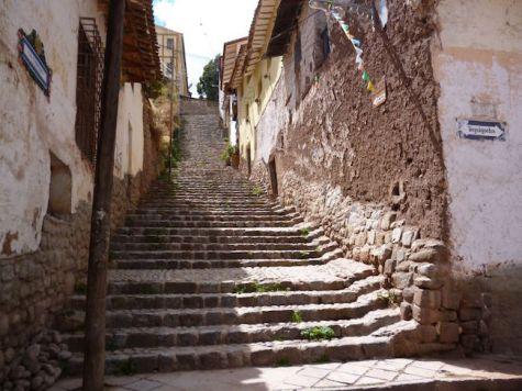 Cusco trappen Peru