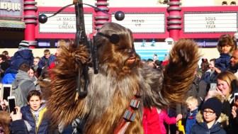 Dag Show met Chewbacca