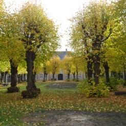 Danish museum garden