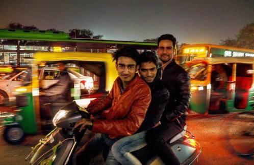 Delhi straatleven