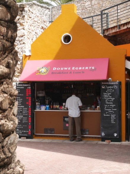 Douwe Egberts Curacao Rif Fort Willemstad