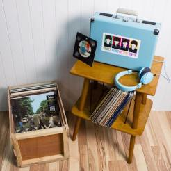 Draagbare vinyl platenspeler crosley