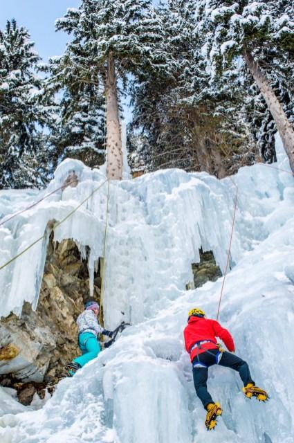 Eispark_Oostenrijk ijswand