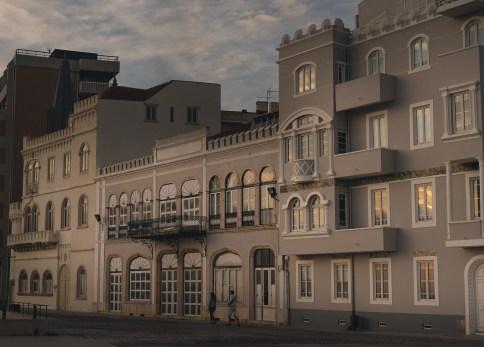Figueira da Foz boulevard architectuur portugal 2