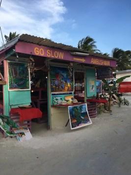 Go Slow Caye Caulker Belize
