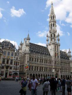 Grote markt en Stadhuis Brussel