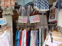 Harajuku shopping