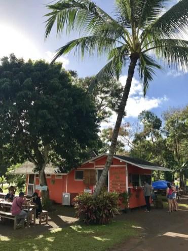 Hawaii eettentje foodtruck lunch