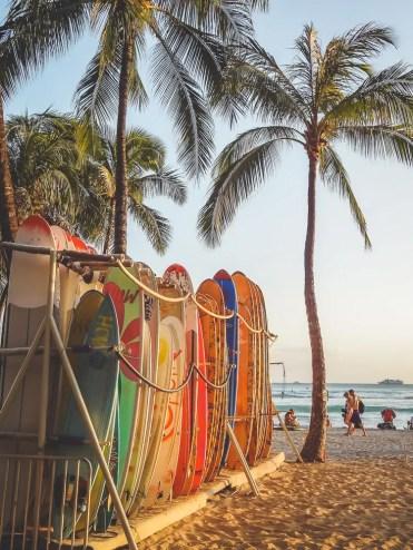 Hawaii surfen vakantie oahu_