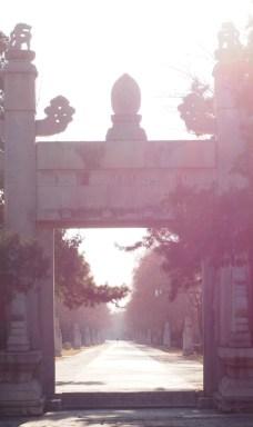 toegangspoort heilige weg beijing