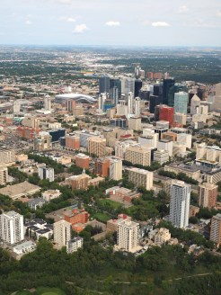 skyline Helicopter tour edmonton