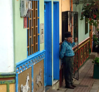 Huisjes Guatape colombia