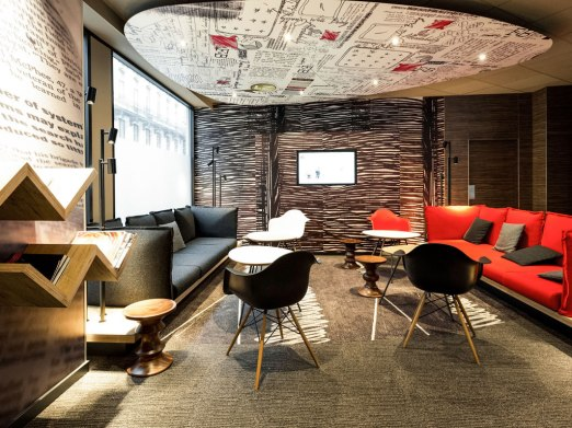 Ibis hotel citytrip brussel lobby