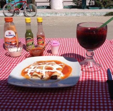 Isla Holbox Jamaica juice Hibiscus