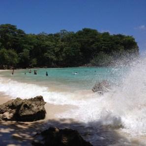 Jamaica stranden Boston Bay