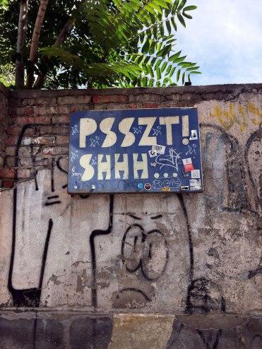 Joodse Wijk streetart boedapest