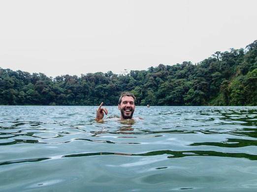 Joris backpacker costa rica Arenal - Cerro chato (3)
