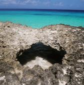 Klein Curacao hidden cave