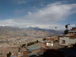 La Paz Teleferico kabelbaan bolivia