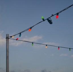 Lampjes op de boot sunset tour curacao