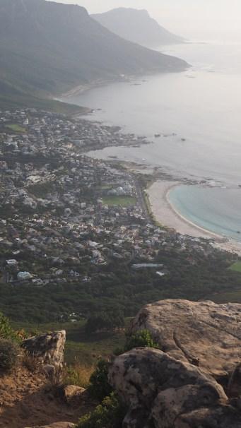 Uitzicht over Kaapstad lion's head