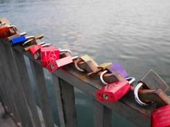 Love locks mascsee hannover