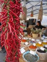 Markt siracusa kruiden