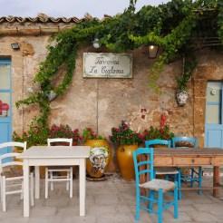 Marzamemi oostkust sicilie italie