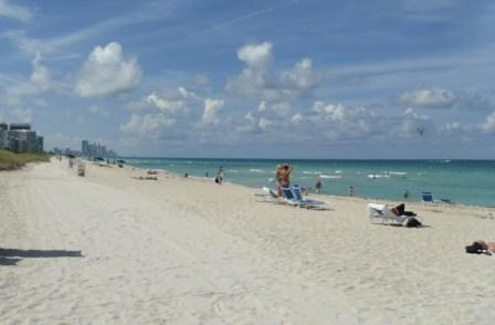 Miami stranden