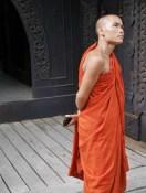 Monnik mandalay tempel