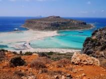 Mooiste strand van kreta balos beach