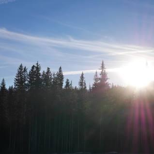 Mount Hood Zonsondergang