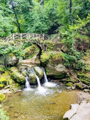Mullerthal Luxemburg Schiessentümpel waterval
