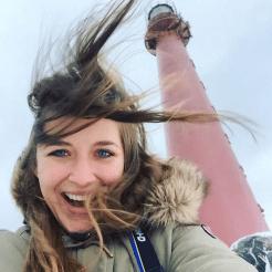 Noord noorwegen wind vuurtoren andenes