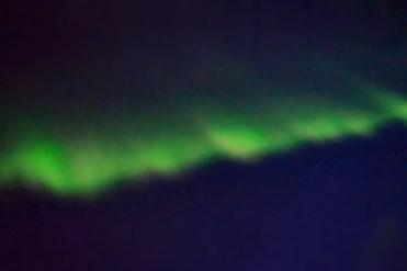 Noorderlicht fel groen