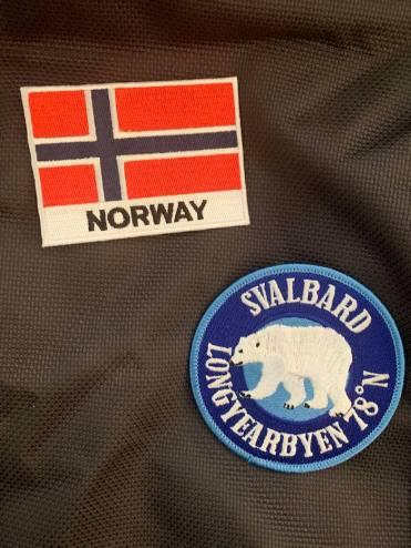 Noorwegen noordpool padge backpack