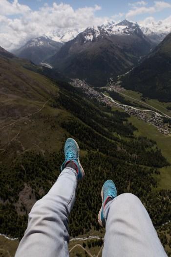 Paragliden in Zwitserland