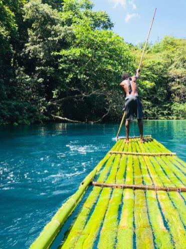 Port Antonio jamaica Blue lagoon