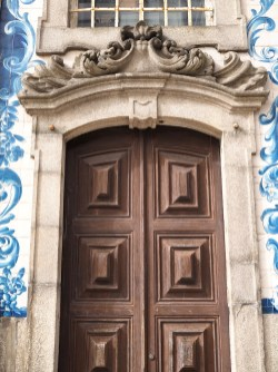 Porto deur tegeltjes