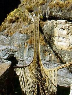 Qeswachaka burg peru bridge