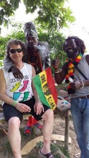 Rasta's op Jamaica