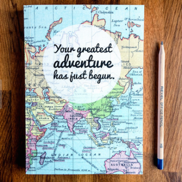 Reisdagboek wereldkaart greatest adventure